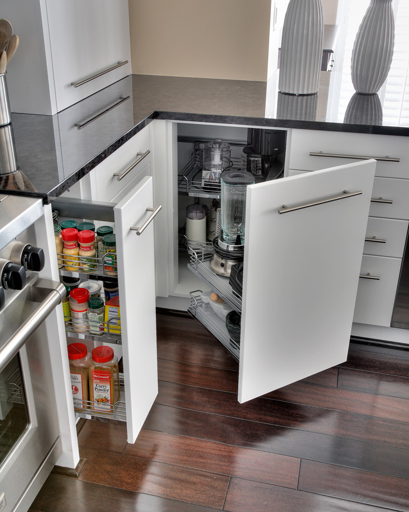 Kitchen Cabinet Organization Accessories